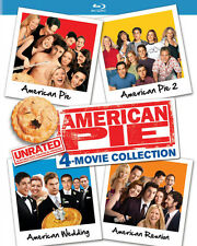American Pie Unrated 4-Movie Collection (2016, Blu-ray NEUF)