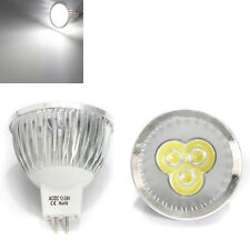 MR16 3W White 3 LED Spotlight LED Light Bulb 12-24V