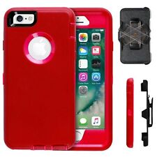 Apple iPhone 7 & 7 Plus ShockProof Case Cover (Holster Fit Otter Box Defender)