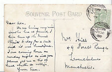 Genealogy Postcard - Family History - Hill - Levenshulme - Manchester   BS160
