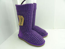 Ukala Women's W80120 Sydney Valerie High Violet Pull On Boots Size 6