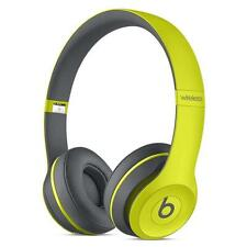 Beats by Dr. Dre Solo 2 Wireless Headband Wireless Headphones - Shock Yellow