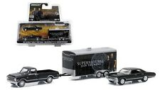 "Greenlight Hitch & Tow Supernatural ""Join The Hunt"" Trailer Set 1/64 Scale"