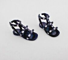 Barbie Shoes Style Resort Glam Vacation Doll Flat Sandals Beach Pool Footwear