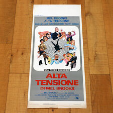 ALTA TENSIONE locandina poster affiche High Anxiety Mel Brooks Madeline Kahn