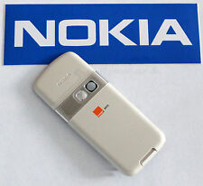 ORIGINALE Nokia 6070 Cover Posteriore Batteria Coperchio scomparto Battery C-COVER ASSY WHITE 0251216