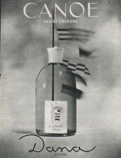 Publicité Advertising  CANOE de DANA paris ...