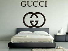 Gucci Brand Exclusive Luxury Unique High Class Wall Decal Vinyl Sticker