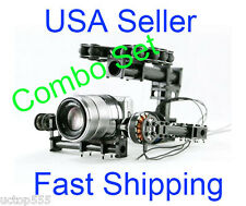 Brushless Camera Gimbal Combo for Mini SLR Sony 5N w/ Motors and Controller PTZ