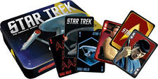 Classic Star Trek Illustrated Playing Cards Gift Set In Storage Tin, NEW SEALED