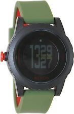 Nixon Men's Genie A3261048 Black Polyurethane Quartz Watch