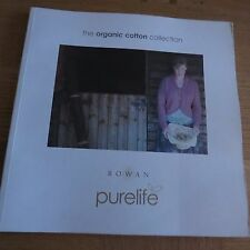 Rowan Purelife Organic Cotton Collection - 18 Designs Pattern Book