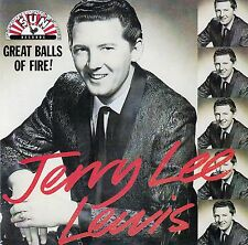JERRY LEE LEWIS : GREAT BALLS OF FIRE / CD - TOP-ZUSTAND