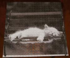 500 Piece Jigsaw Puzzle Cat Nap by David McEnery
