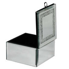 New Mirrored Trinket Box Made With Swarovski Crystals