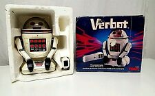 Vintage TOMY VERBOT 1984 Remote Controlled Robot Collectible Made In Japan