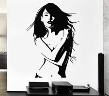 Sexy Woman Wall Stickers Beautiful Girl Naked Model Vinyl Decal (ig1354)