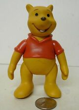 Vintage Walt Disney Parks Winnie The Pooh Articulated Figure Rubber Vinyl !!!