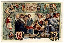 ROTHENBURG o.T. Festspiele 1905 * Bayern Ganzsachen-Postkarte PP 15 C 88