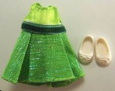 """4"""" BARBIE LITTLE SISTER KELLY DOLL CLOTHING FANCY DRESS OUTFIT SHOES LOT ONLY"""