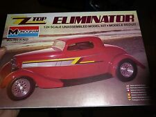 MONOGRAM FORD COUPE ZZ-TOP ELIMINATOR 1985 1/24 Model Car Mountain KIT