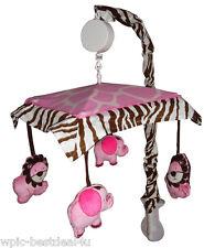 Musical Mobile - Pink Safari by Sisi