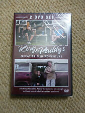 RORY & PADDY'S GREAT BRITISH ADVENTURE - 2 DISC DVD SET - NEW & SEALED