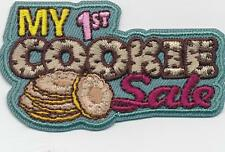 Girl MY FIRST COOKIE SALE Daisy Brownie Fun Patches Crests Badges SCOUT GUIDE