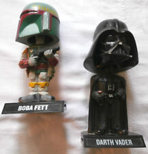 DARTH VADER BOBAFETT ACTION FIGURE LUCASFILM 2009 GUERRE STELLARI STAR WARS - AD