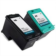 2PK HP 96 97 Ink Cartridge C8767W C9363W DesignJet 5940 OfficeJet 7210 7310 7410