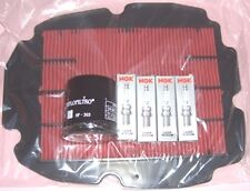 Service kit- Plugs , Air & Oil filter for HONDA  VFR VFR800  2002 to 2011