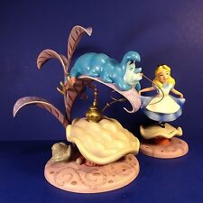 WDCC Disney PROPERLY POLITE & WHO R U Caterpillar & Alice in Wonderland w/ box