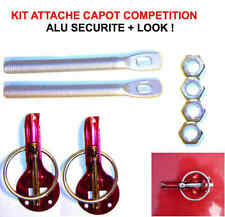 Kit Attache Capot Compétition 100% alu RAID 4X4 HDJ KDJ PATROL LAND JEEP PAJERO