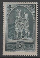 """FRANCE STAMP TIMBRE N° 259 """" CATHEDRALE REIMS 3F TYPE I """" NEUF xx TTB  K450"""
