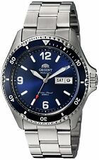 Orient FAA02002D Men's Blue Mako II Stainless Steel 200M Diver Watch