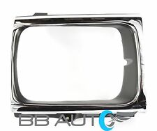 92-95 TOYOTA PICKUP TRUCK 4x4 RH PASSENGER SIDE HEADLIGHT BEZEL TRIM CHROME NEW