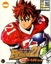 Eyeshield 21 (TV 1 - 145 End) DVD - English Subtitle