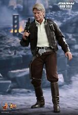 HAN SOLO Hot Toys 1/6 Figure (Star Wars:Force Awakens) Harrison Ford UK SHIPPED