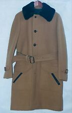 Vintage Men's Raglan Hunting Heavy Wool Coat By Invertere Of Newton Abbot.