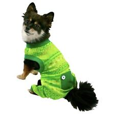 Dog Christmas Pajamas Pet Costume for Medium Dogs Pets Holiday Pattern With Fly
