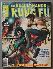 Deadly Hands Kung-Fu #32 1st DAUGHTERS of the DRAGON 1977 IRON FIST Netflix VF
