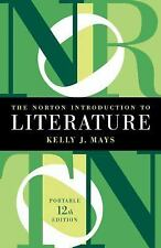 NEW - The Norton Introduction to Literature (Portable Twelfth Edition)