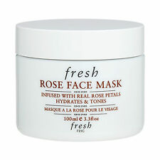 1 PC Fresh Rose Face Mask (For All Skin Types) 100ml Skincare Mask Moisturizing
