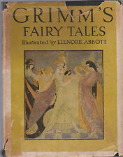 Grimm's fairy tales book 1946 Illustrated By Elenore Abbott