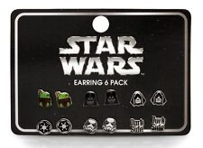 Star Wars, Dark Side, Darth Vader, Storm, Trooper, Boba Fette Earrings sets