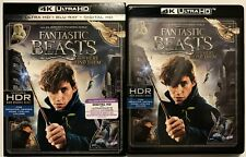 FANTASTIC BEASTS AND WHERE TO FIND THEM 4K ULTRA HD BLU RAY 2 DISC + SLIPCOVER