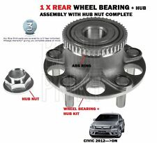 FOR HONDA CIVIC 1.4 1.6DT 1.8 VTEC DTEC 2.2DT 2012-  REAR WHEEL BEARING HUB KIT