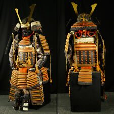 Japanese Wearable SAMURAI Warrior YOROI Armor & KABUTO Helmet Set w/ Box: IF846
