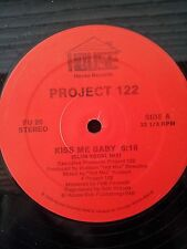 """Project 122-Kiss My Baby 12""""  Very Rare House"""