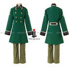 APH Hetalia: Axis Powers Switzerland Uniform COS Clothing Cosplay Costume